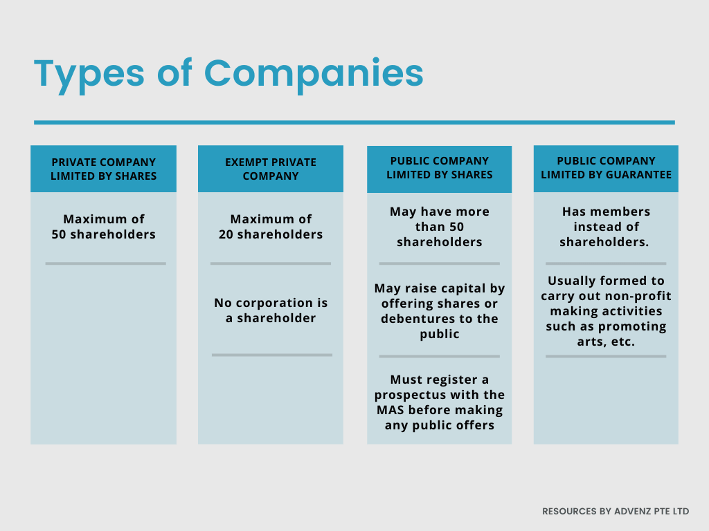 Types of Company