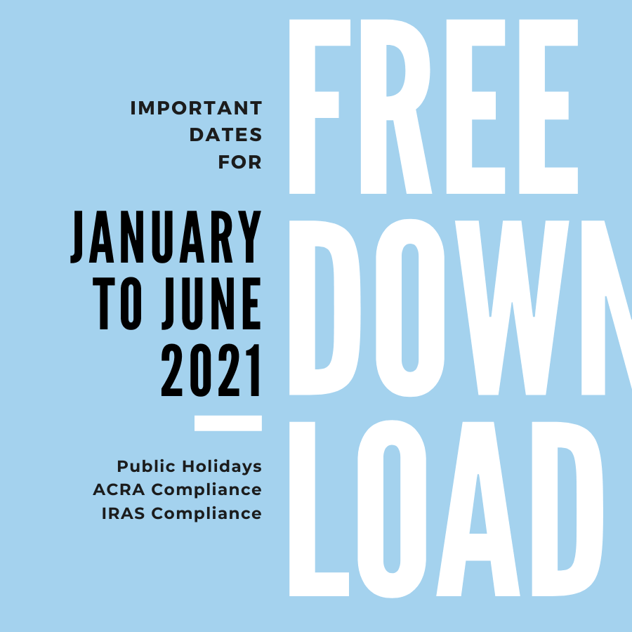 Important Compliance Dates (Jan to Jun 2021)