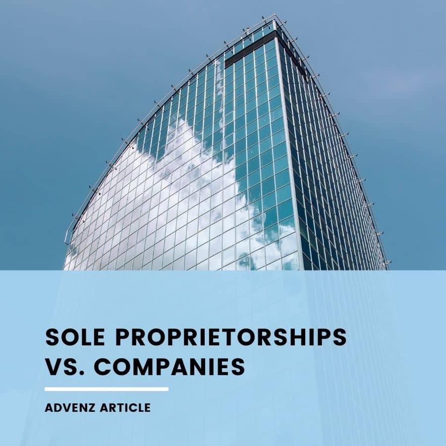 Sole Proprietorships vs Company (Cover)